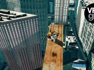 Vaata, mis tunne on kassi päästa kasutades selleks VR-i