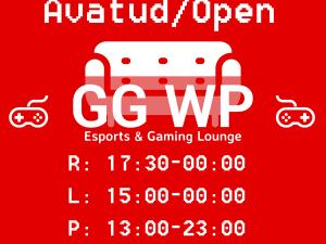 Eesti esimene e-spordi & gaming lounge GG-WP ootab Sind!