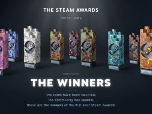 Valve esmakordselt alustatud Steam Awards võitjad on selgunud